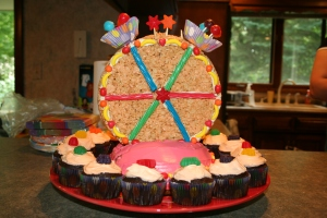 The glorious cake