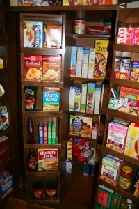 Inner section of the pantry