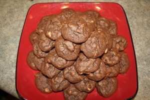 Mount Cookie (and this was only half of them!)